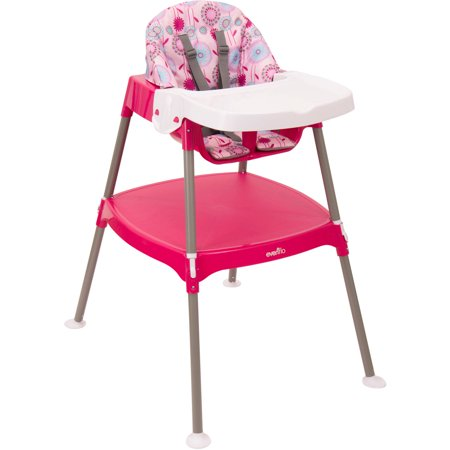 evenflo convertible 3 in 1 high chair brianne. Black Bedroom Furniture Sets. Home Design Ideas