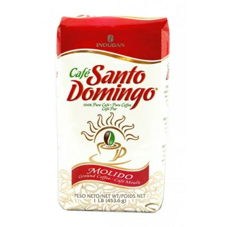 cafe santo domingo dominican ground coffee 1 lb bag