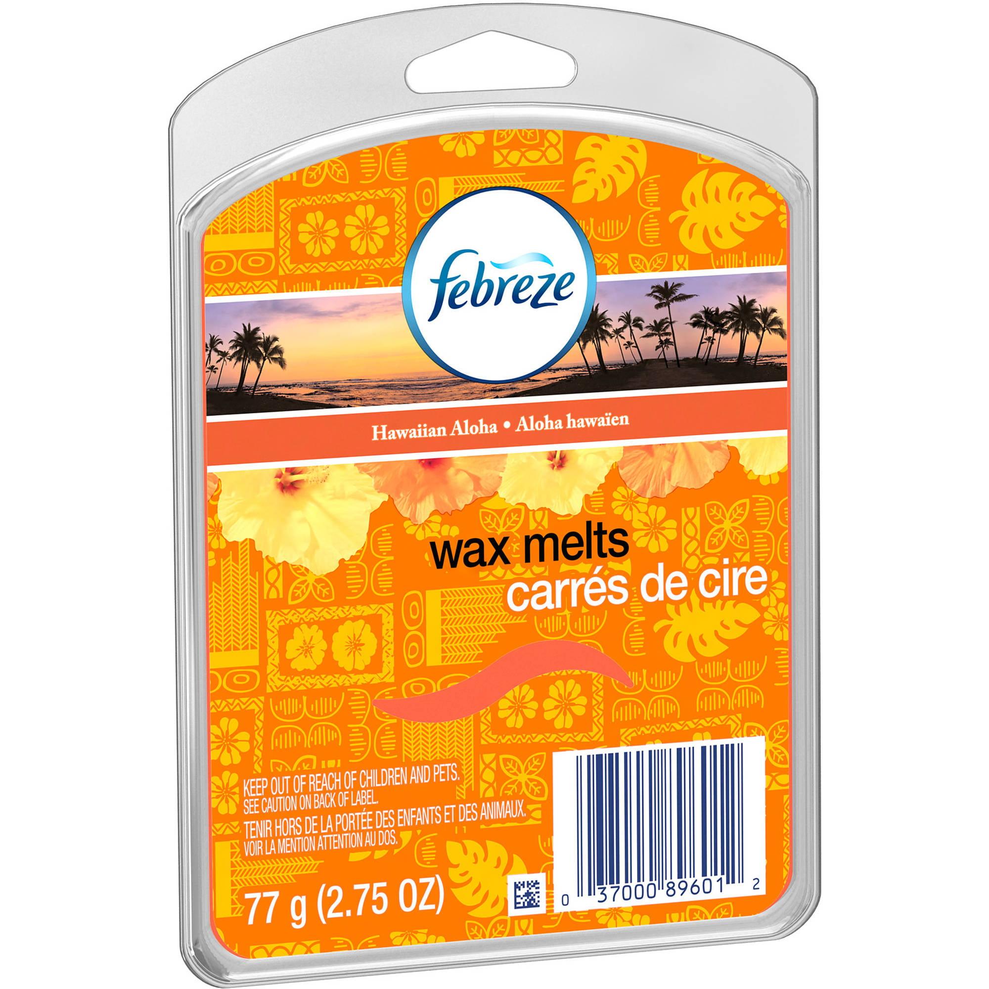 Febreze Hawaiian Aloha Wax Melts, 6 count, 2.75 oz