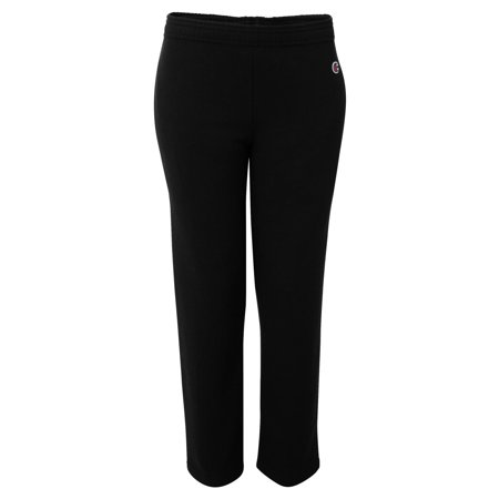 P890 Double Dry Eco Youth Open Bottom Sweatpants with Pockets ()