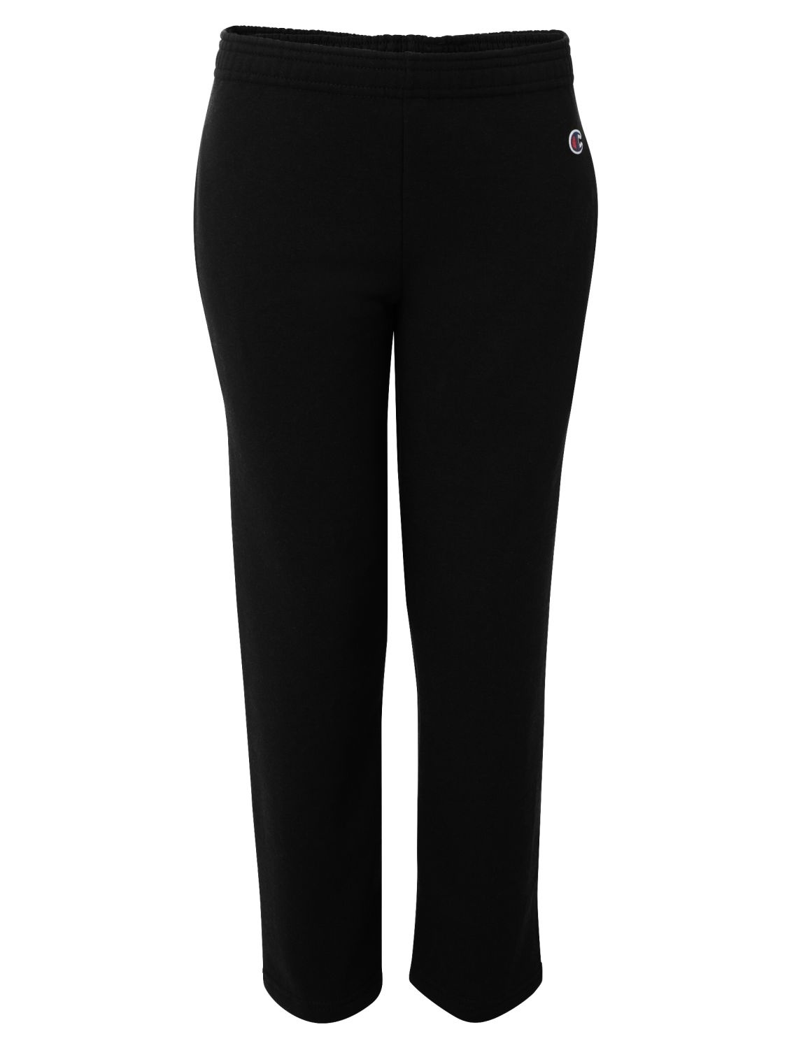 Champion P890 Double Dry Eco Youth Open Bottom Sweatpants with Pockets