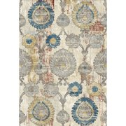 Crescent Drive Rug Company Prism Gray/Beige Area Rug