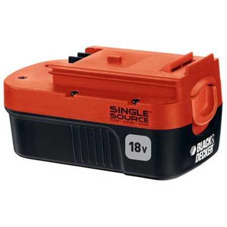 Black and Decker Genuine OEM Replacement 18 Volt Battery #