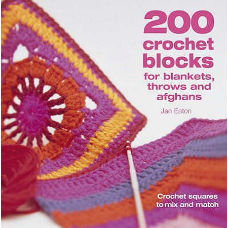 Free Crochet Afghan - 200 Crochet Blocks for Blankets, Throws and Afghans