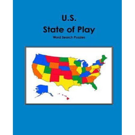 U.S. State of Play Word Search Puzzles