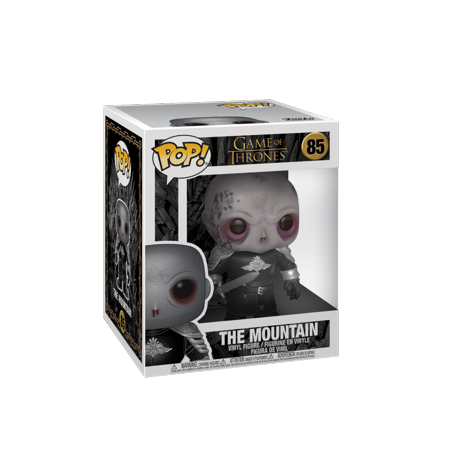 Funko POP TV: Game Of Thrones - 6u0022 The Mountain (Unmasked)