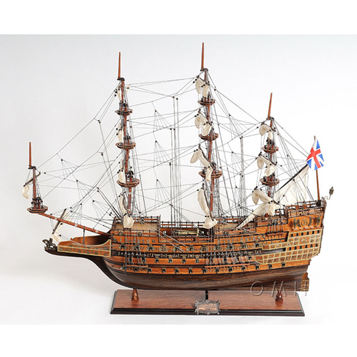 Old Modern Handicrafts T076 Sovereign of the Seas Mid Size EE Model Boat
