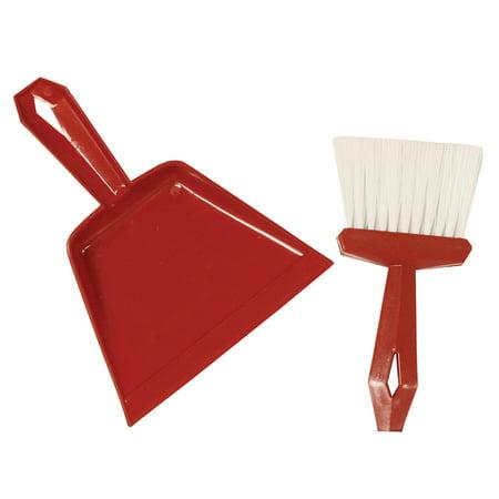 DUST PAN & WHISK BROOM SET (Whisk Broom Set)