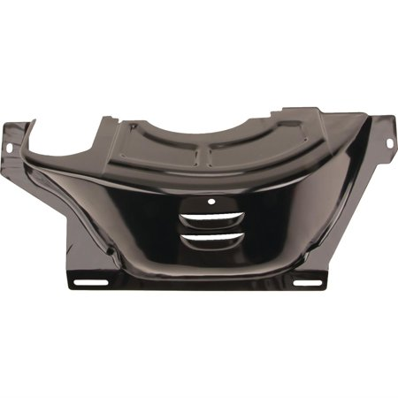 GM 700R4 Flywheel/Flexplate Dust Cover, Black - 700r4 Trans