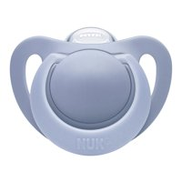 NUK Newborn Orthodontic Pacifiers, 0+m, 2-Pack (Boy)