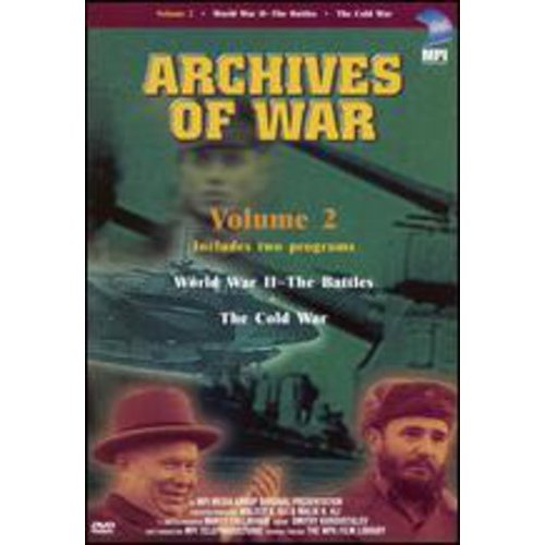 Archives Of War, Vol. 2: World War II The Battles   The Cold War by MPI HOME VIDEO