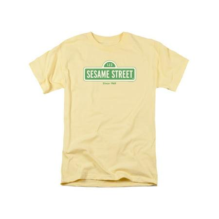 Trevco SESAME STREET SINCE 1969 Banana Adult Unisex T-Shirt