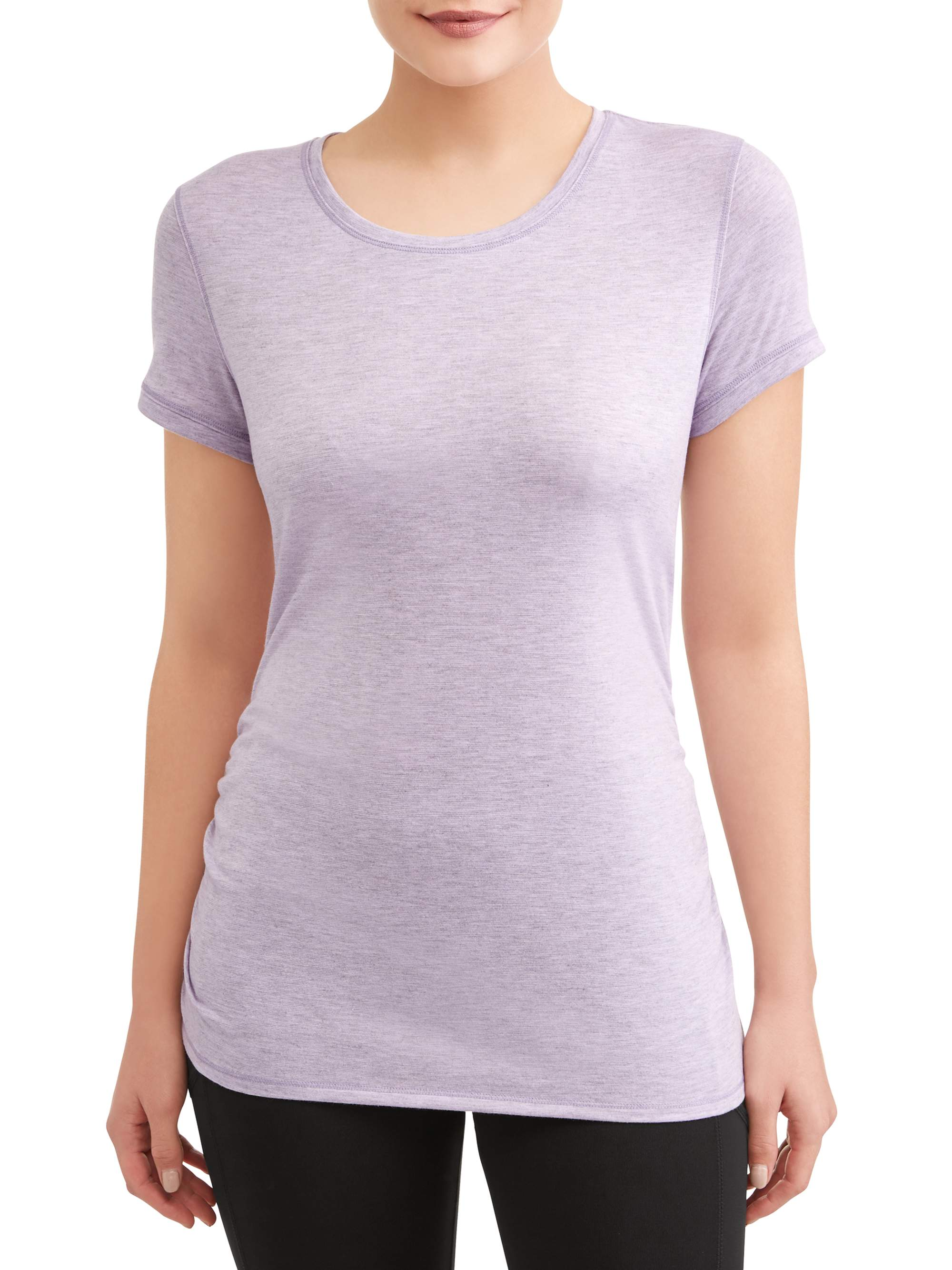 Athletic Works Ruched Ss Tee