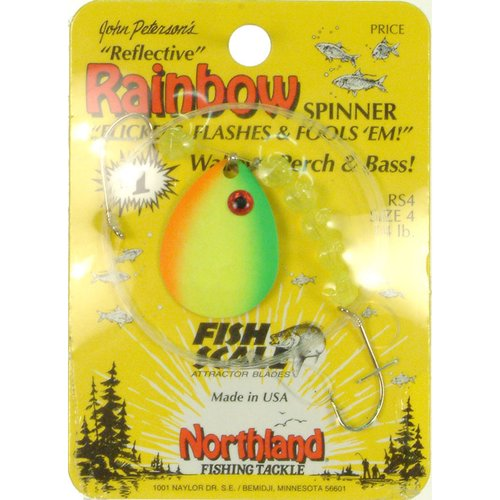 Northland Tackle Sprig #4 Coloradosunrise - WSR4M-YO