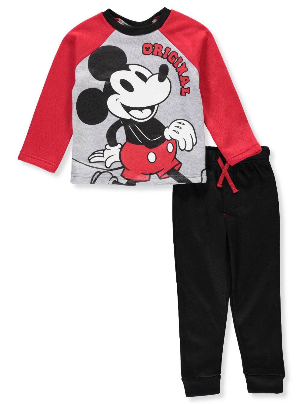 Disney Mickey Mouse Boys' 2-Piece Pants Set Outfit
