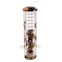 Perky-Pet Squirrel-Be-Gone Cylinder Wild Bird Feeder