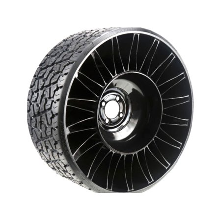 (1) Michelin X Tweel Turf Tire Assembly 24x12.00-12 Fits Zero Turn