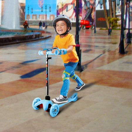BIG SALES Toddler Baby Scooter, 3 Wheel Adjustable Kids Kick Scooter with LED Light Up Wheels, Birthday Gifts for Children Boys Girls 2 to 6 Years Old - Gifts For A 4 Year Old Boy