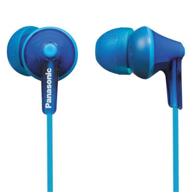 ErgoFit In-Ear Earbud Headphones, Blue