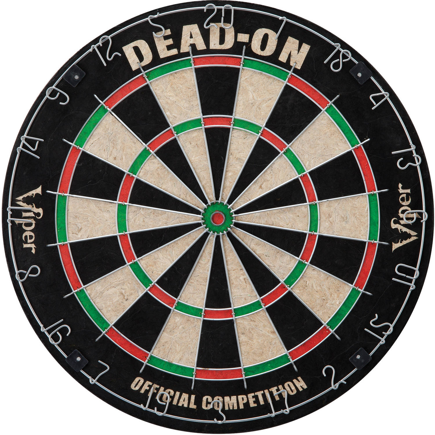 Viper Dead-On Bristle Dartboard by Generic