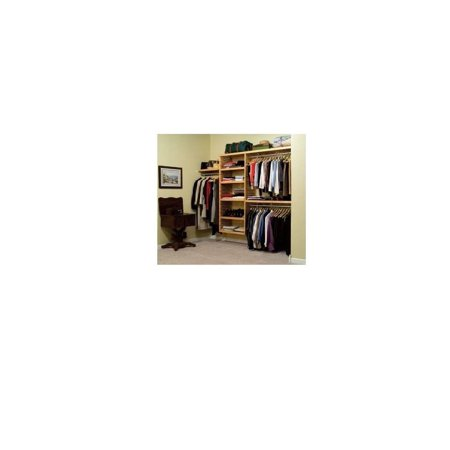 John Louis Home Jlh 525 Deluxe 16 Inch Deep Closet Shelving System