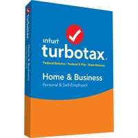 TurboTax Home & Business 2018 Federal +E-file+State (PC/Mac Disc)