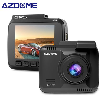 AZDOME GS63H Car DVR Recorder Dash Cam 4K Built-in GPS WiFi Dual Rear Lens Vehicle Camera Camcorder Night Vision Camera - image 2 of 7