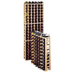 Traditional Series 66-Bottle 6-Column Half Height Wine Rack