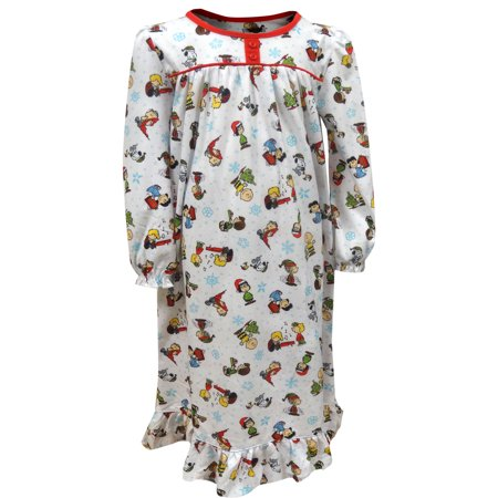 Toddler Christmas Nightgown (Peanuts Charlie Brown Christmas Toddler Traditional)
