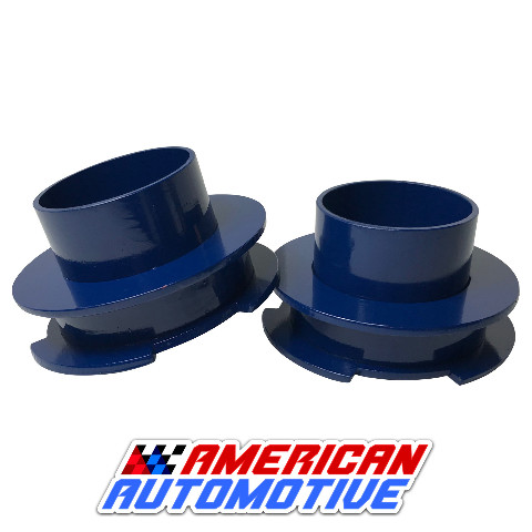 """1997-2003 F150 Lift Kit 2.5/"""" 2WD Steel Coil Spring Spacers Made in USA"""