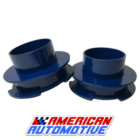 """1990-2002 4Runner Lift Kit Rear 2"""" 2WD Blue Steel Coil Spring Spacers"""