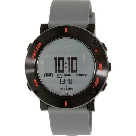 Temp Compass Mens Watch - Suunto Core Crush Grey Chronograph Mens Watch SS020691000