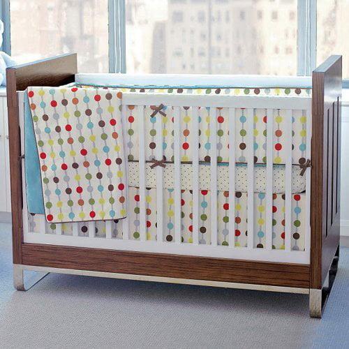 Skip Hop 276001 Mod Dot Crib Bedding - 4-Piece Set