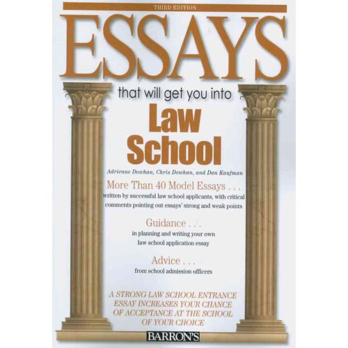 entrance essay for law school For now, law school admissions officials are the law experts you are the expert on you if you are going to mention a law school concentration that interests you, you need to back up your interest by including details about experiences that led you to your interest.
