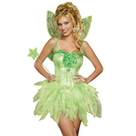 Fairy Licious Costume 9452 by Dreamgirl Green