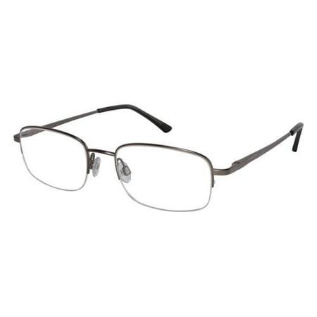 ALTAIR Eyeglasses A4007 002 Gunmetal 53MM - Walmart.com