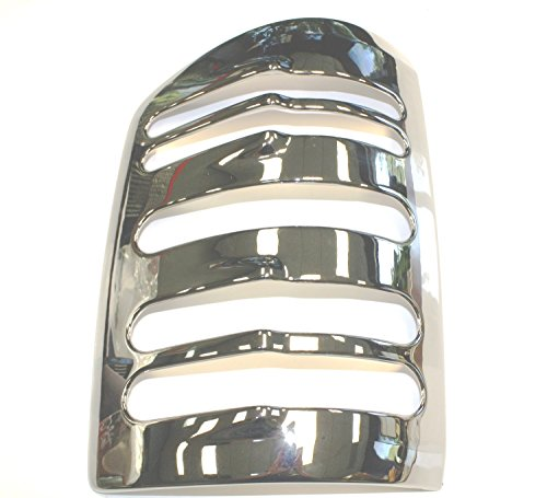 All Sales (V1594C) Taillight Cover, Chrome
