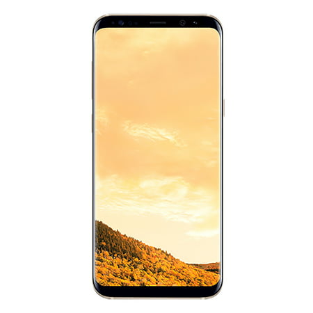Samsung S8+ G955F 64GB GSM Phone - Maple Gold