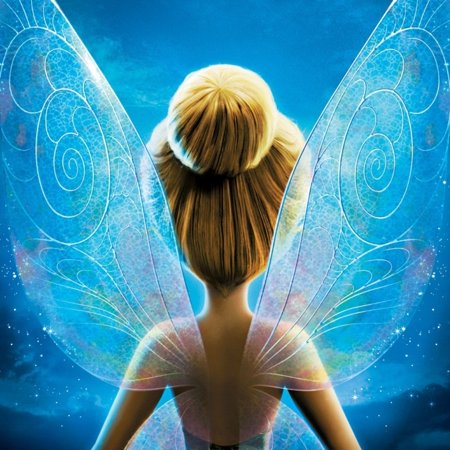 Walmart Tinkerbell Cake (Tinkerbell and the Secret of the Rings Edible Cake Topper Image)
