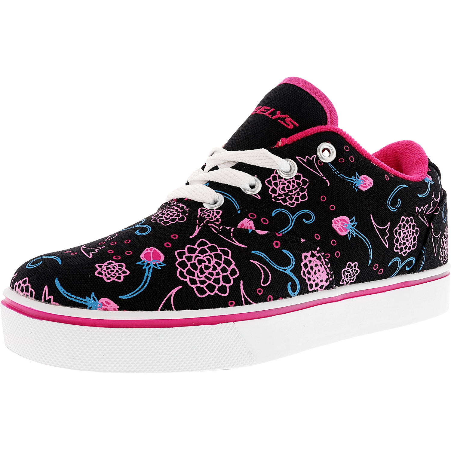 Heelys Launch Black / Hot Pink Blue Ankle-High Fashion Sn...
