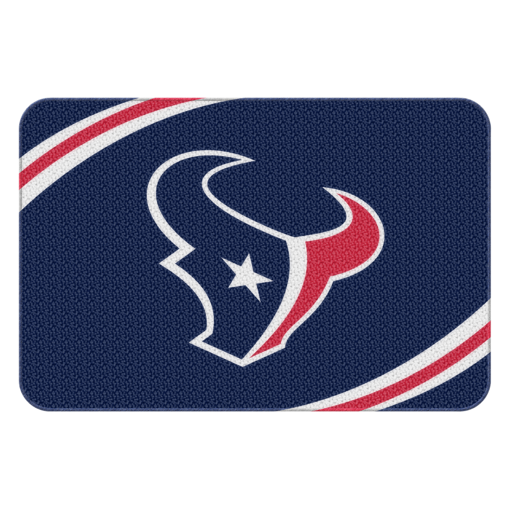 "NFL Houston Texans 20"" x 30"" Round Edge Bath Rug"