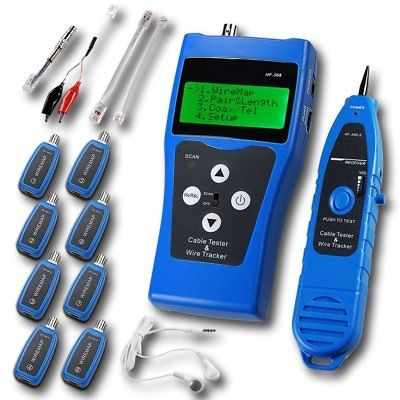 Noyafa NF-388-B Multipurpose Network Cable Tester Tracker...