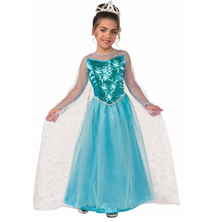 Elsa Frozen Krystal Princess Costume Kids Small