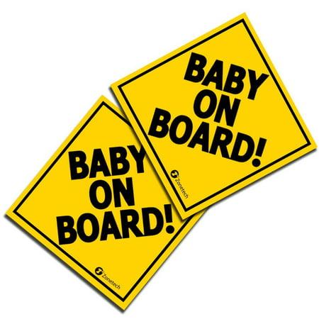 Baby Fabric Stickers (Zone Tech