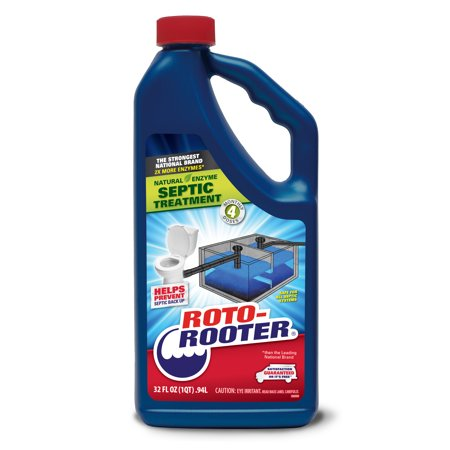 Roto Rooter Septic Treatment, 32 Oz