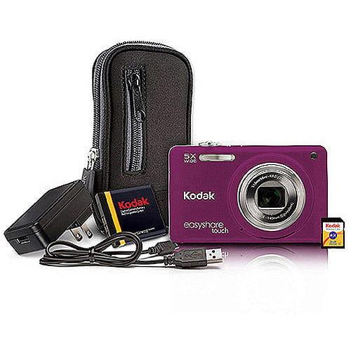 Kodak Easyshare Touch M5370 16MP Digital Camera Bundle w ...