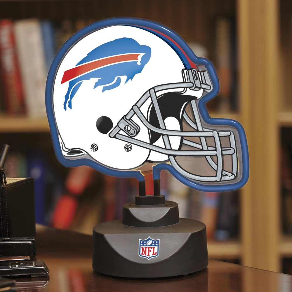 Buffalo Bills Neon Helmet Lamp-bills