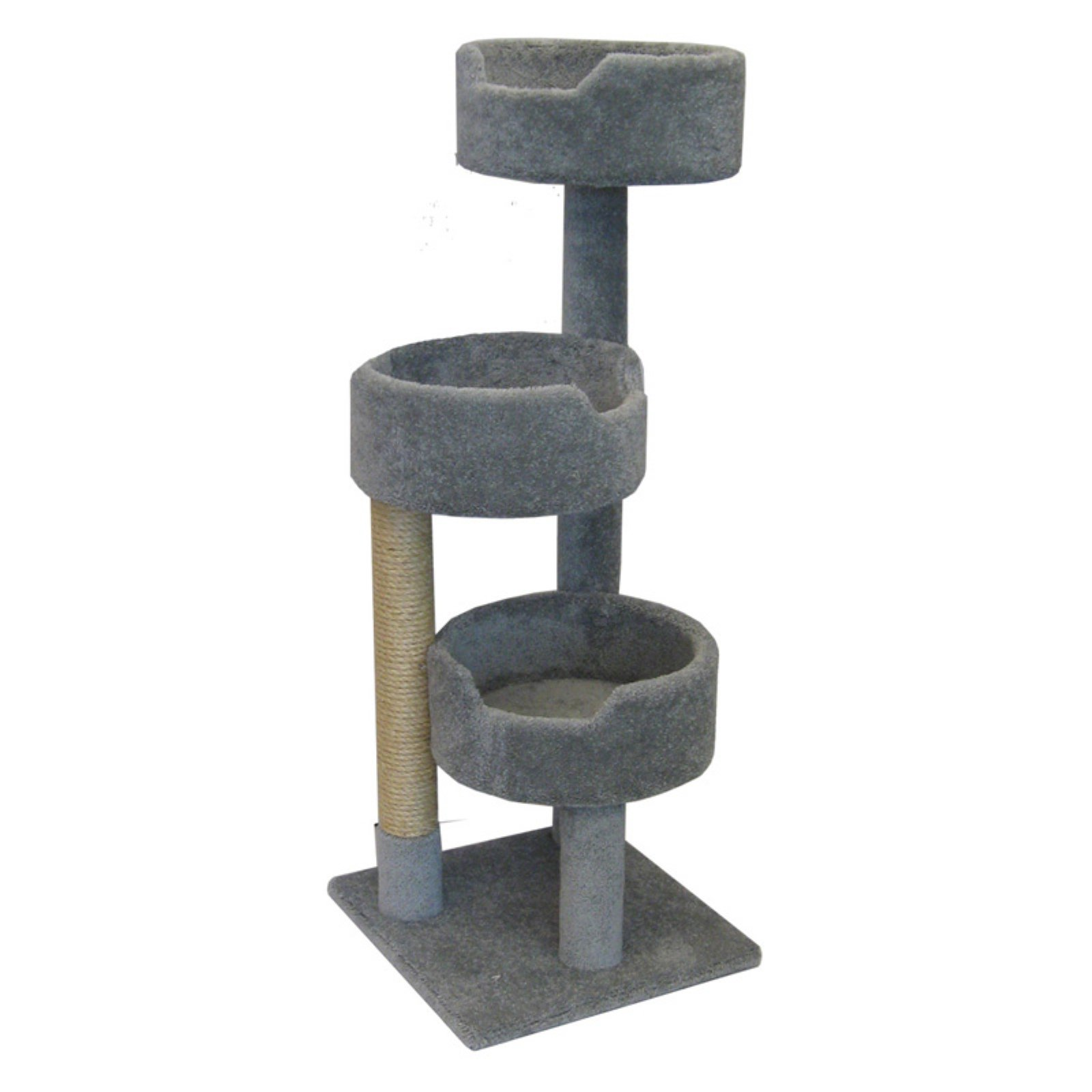 New Cat Condos Deluxe Kitty Pad 52 in. Cat Tree by New Cat Condos