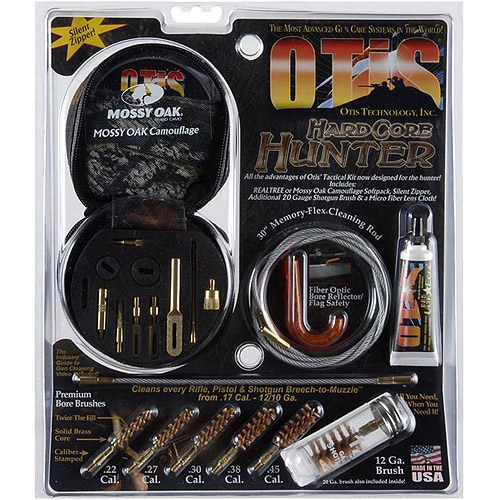 Otis Hardcore Hunter Gun Cleaning Kit, Mossy Oak