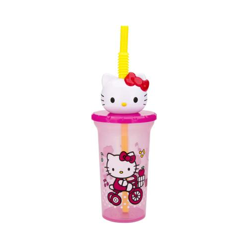 Zak! Designs Buddy Sip Cup - Hello Kitty - 15 oz